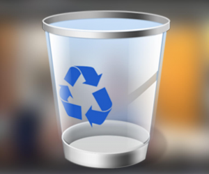 How to recover files from empty recycle bin